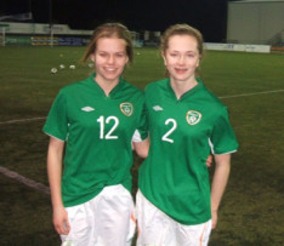 8049eede92502 Last Tuesday night's international friendly game between the Republic of  Ireland Women's U16 team and their Northern Ireland counterparts at Oriel  Park ...